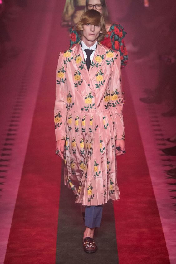 A look from the spring 2017 Gucci collection. Photo: Imaxtree.