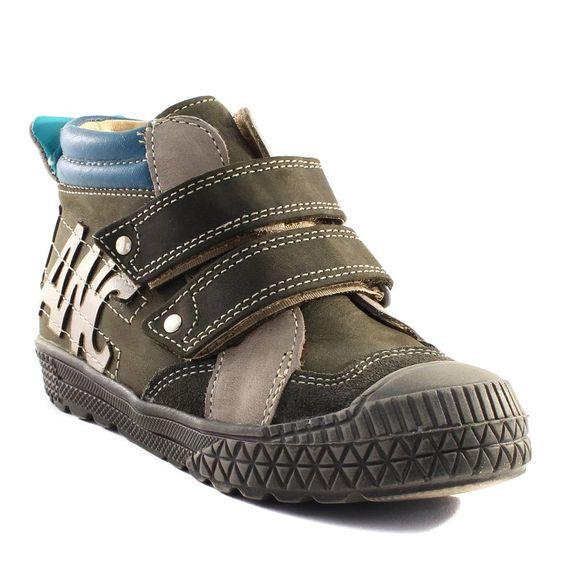 329A LOUP BLANC HESSEY KAKI www.ouistiti.shoes le spécialiste internet de la chaussure bébé, enfant, junior et femme collection automne hiver 2015 2016
