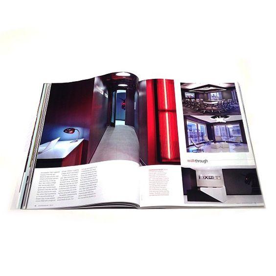 Kixeye project in print #interiordesignmagazine #kixeye #raptstudio