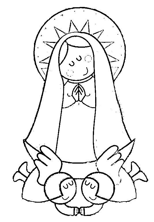 Imagenes De La Virgen Del Valle Para Colorear Imagui Dibujos