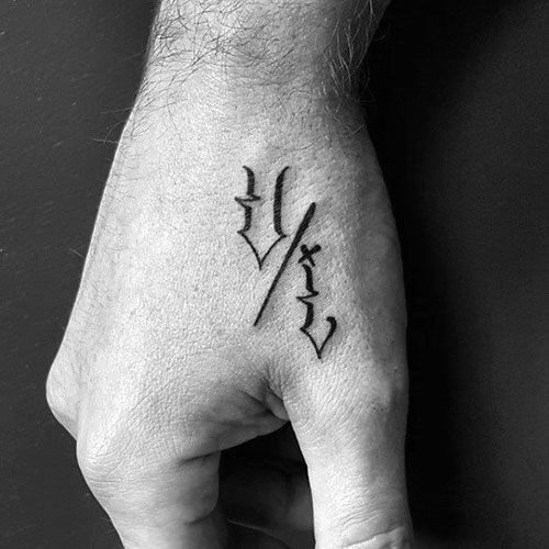 101 Best Small Simple Tattoos For Men 2020 Guide Hand Tattoos Hand Tattoos For Guys Tattoos For Guys