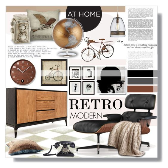 """""""Untitled #678"""" by valentina1 ❤ liked on Polyvore featuring interior, interiors, interior design, home, home decor, interior decorating, Dot & Bo, Herman Miller, Crate and Barrel and Eichholtz"""