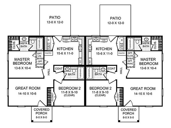 Plan 001m 0001 find unique house plans home plans and for Unique duplex plans