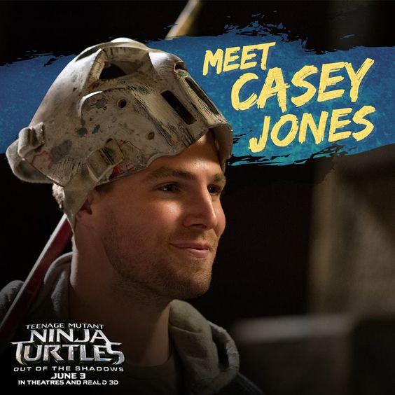 Casey Jones joins the squad in TMNT2. Watch him in action June 3rd. #CaseyJones #TMNT2