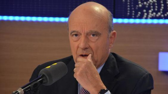Alain Juppé,candidat à la primaire de la droite et du centre, maire LR de…