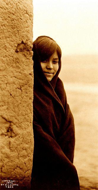 Edward S. Curtis: Zuni girl, New Mexico, ca. 1903 by trialsanderrors, via Flickr: