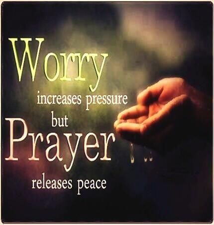 Have Faith & stop worrying