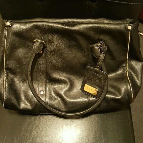 Armani Exchange tote GREAT condition. Thick black leather. Armani Exchange Purse Armani Exchange Bags Totes