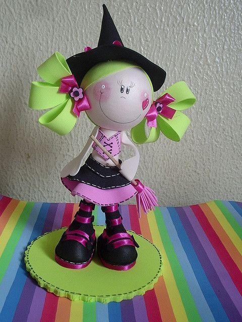 fofucha bruxinha by Maria Joaninha by Cidinha, via Flickr: