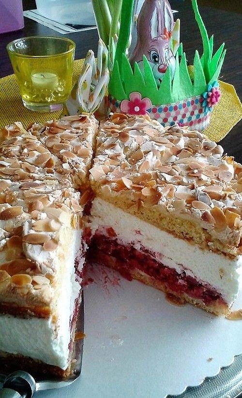 Himmelstorte Mit Himbeeren Von Curiosia Chefkoch Rezept Kuchen Und Torten Kuchen Rezepte Backrezepte