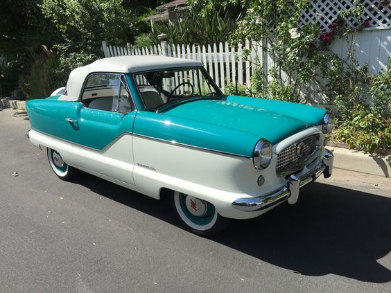 Time to say good-bye to another restoration! This beauty is going home to Nevada. 1959 Nash Metropolitan.