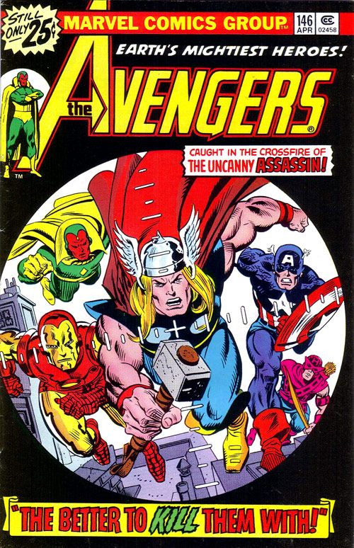 Cool Avengers Comic Book Cover Art!!