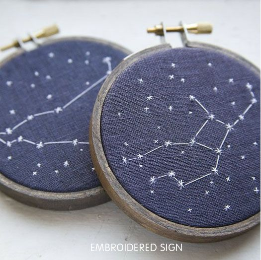 an embroidery project easy and cool enough for the grumpy boy