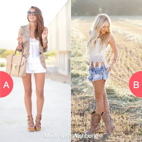 What outfit do you like best? Click here to vote @ http://getwishboneapp.com/share/13294599