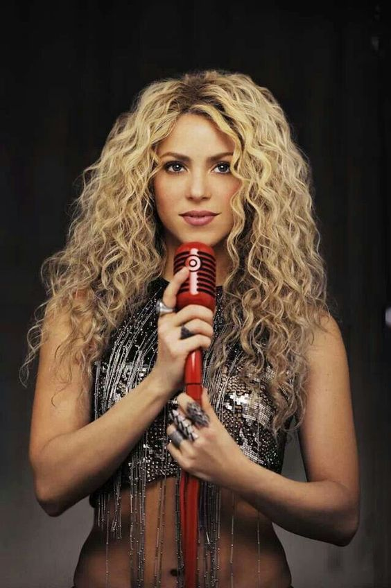 Shakira, If we all were as confident as she was...She has such a great sense of humor too.