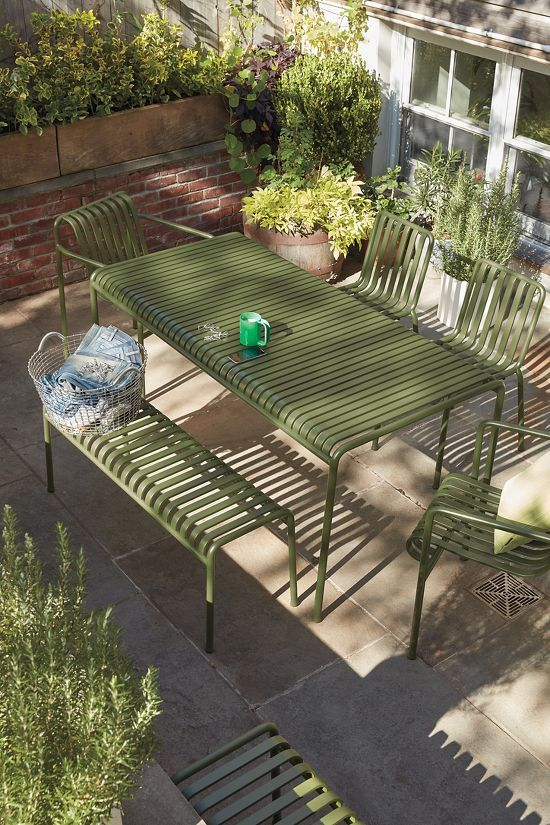 Palissade Bench Used Outdoor Furniture Outdoor Furniture
