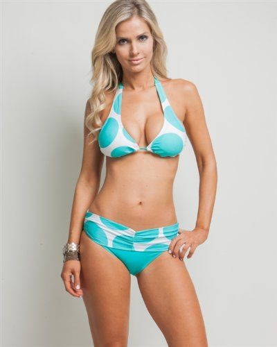 CLICK IMAGE TWICE FOR INFO AND PRICING :) SEE MORE halter bikini tops at http://zbikinis.com/category/bikini-categories/bikini-swimsuit-tops/halter-bikini-top/ - G2 Chic Solid 2 Piece Halter Swim Suit(SW-2PC,LBL-S) « zBikinis.com