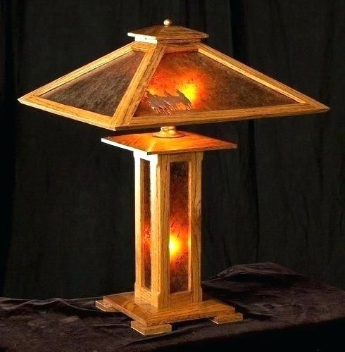 Mission Style Table Lamps Amazing Craftsman Style Lamps For