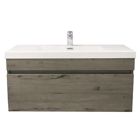 Elite Cube 1000 Single Drawer Wall Hung Stock Vanity Top 4 Colours Vanity Top Wall Hanging Bathrooms Online