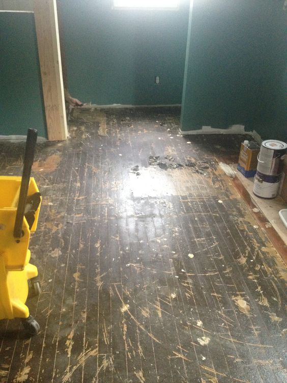 DIY Tips For How To Remove Vinyl Flooring, Old Linoleum Or Glue | House