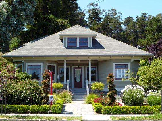 Craftsman Home In Santa Cruz Ca Santa Cruz Victorians