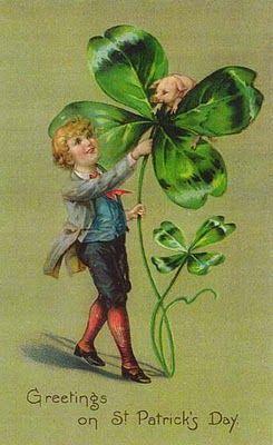 Vintage St. Patrick's Day Card: