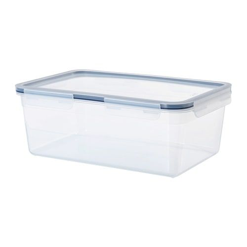 Ikea 365 Food Container With Lid Rectangular Plastic Ikea Food Containers Food Storage Containers Ikea