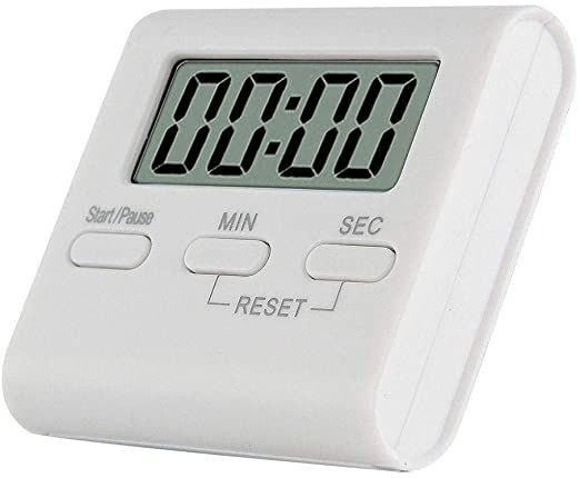 Digital Kitchen Timer Magnetic Kitchen Baking And Cooking Baking Countdown Device With Lcd Display Loud Alarm Magnetic Suppo Kitchen Timers Timer Aaa Batteries