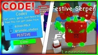 Code Op Festive Serpent Gives You Infinite Candy Canes Bubble - candy galaxy simulatornew updates roblox