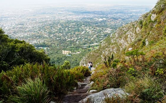 Hiking Skeleton Gorge, Cape Town