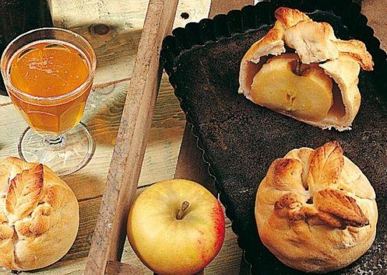 Bourdelots aux pommes - Délicieuses pommes au four made in Normandie -