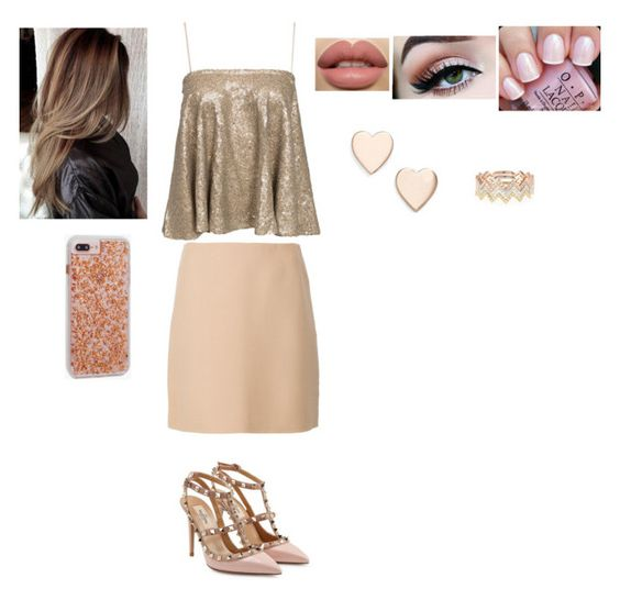 """""""#1744"""" by jemi-118 ❤ liked on Polyvore featuring Theory, Valentino, Case-Mate, OPI, Poppy Finch and EF Collection"""
