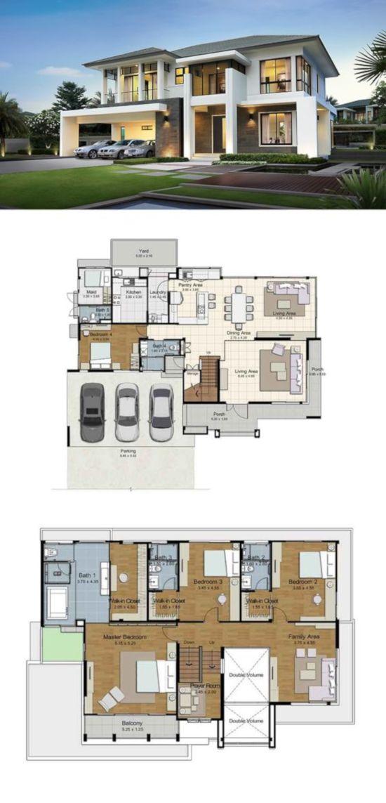 32 Desain Rumah Minimalis Inspiratif Plus Denah Dan Lyout Perabot 1000 Inspirasi Desain Arsitektur Teknologi Konstruksi Desain Rumah Rumah Indah Rumah Mewah