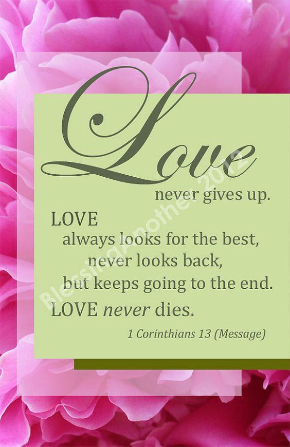 Scripture Art Print Word Art Trust Love Hope God I
