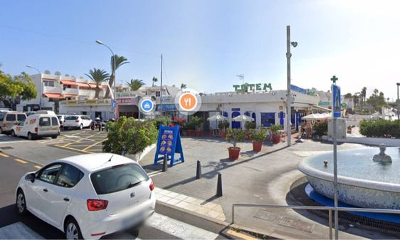 El Centro Comercial de El Chaparral se encuentra en Costa del Silencio, en el municipio de Arona / Google Maps