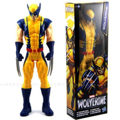 "Marvel X-Men Wolverine Titan Hero 12/"" PVC Action Figure Kids Collection Toy Gift"