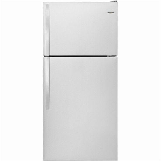 Whirlpool 14 3 Cu Ft Top Freezer Refrigerator Monochromatic