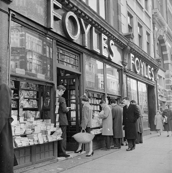 Foyles Bookshop from London fine art photography
