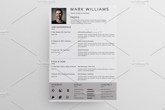 Resume Template  - writing the perfect resume