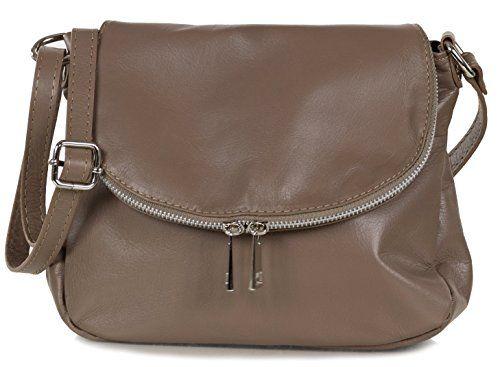 Damen Weiches Nappa Leder Praktisch Schultertasche//Schulter//Handtasche