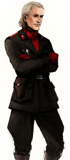 I found this on google images - but I can't find it again so I'm pinning it to my Revolver Ocelot board.