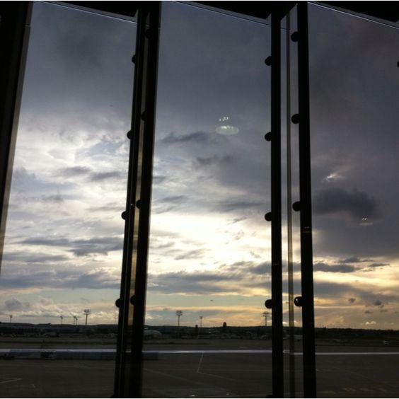 Paris AirPort @ Sunset