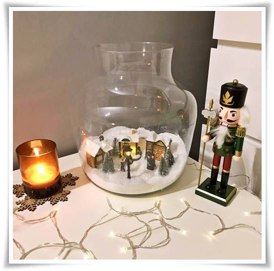 Wazon słój szklany