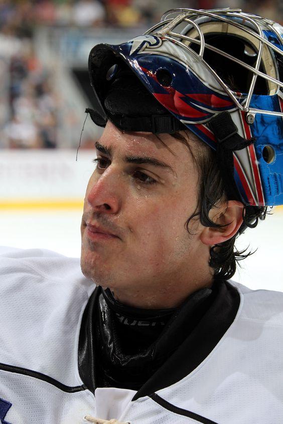 11.02.13 - Hershey Bears goaltender, David Leggio.  Photo courtesy of JustSports Photography