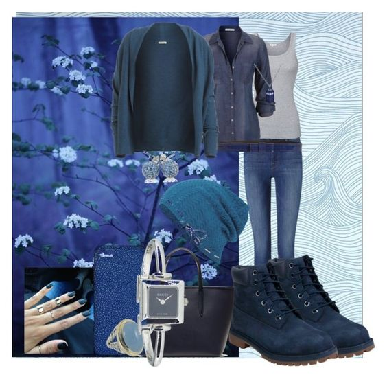 """color color 28"" by viviana519 ❤ liked on Polyvore featuring Frame Denim, Splendid, maurices, American Vintage, Timberland, Lacoste, Maison Takuya, Keds, Lanvin and David Yurman"