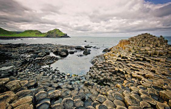 英国北アイルランドジャイアンツ・コーズウェー(Giant's Causeway)