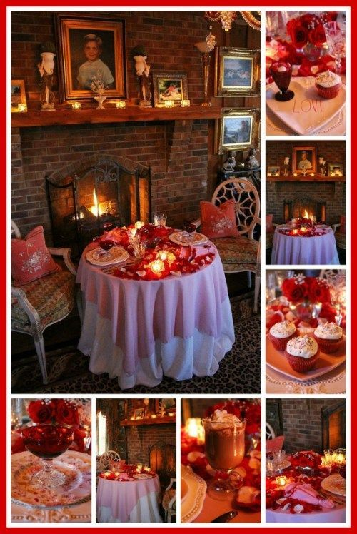 Romantic Table For Two Romance Roses Romantic Dinner Decoration Romantic Table Romantic Dinner Tables