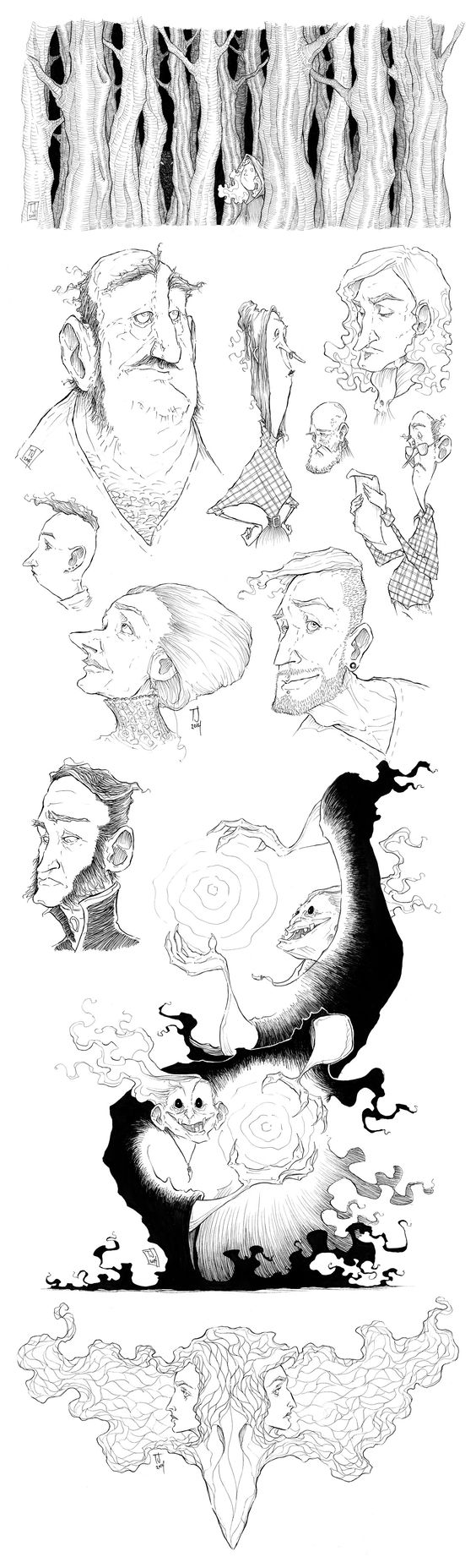 ART DUMP 1 | 2014 by Ripplen.deviantart.com on @deviantART
