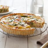 Looks great: Ham, Camembert & Asparagus Quiche  #recipes #breakfast