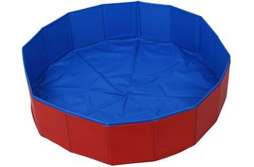 Top 10 Best Portable Dog Pools Dog Pool Dog Swimming Dog Bed Large